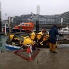 Récupération courantomètre au Havre